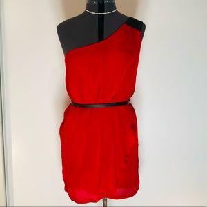 SALE! 2 for $25 Off the Shoulder Red Tulip Dress